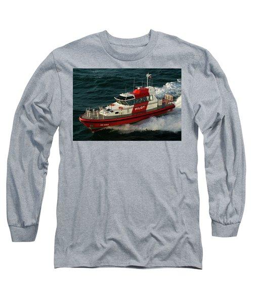 Pilot Boat Wellington Long Sleeve T-Shirt