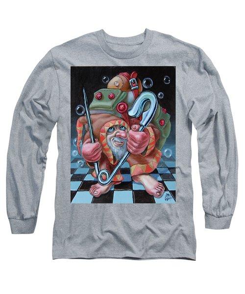 Pin Long Sleeve T-Shirt