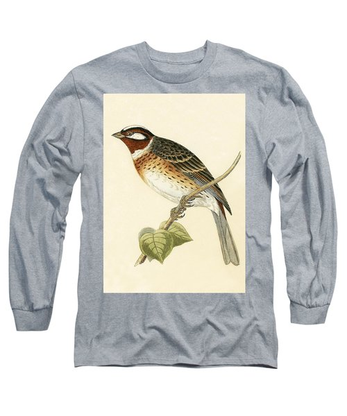 Pine Bunting Long Sleeve T-Shirt