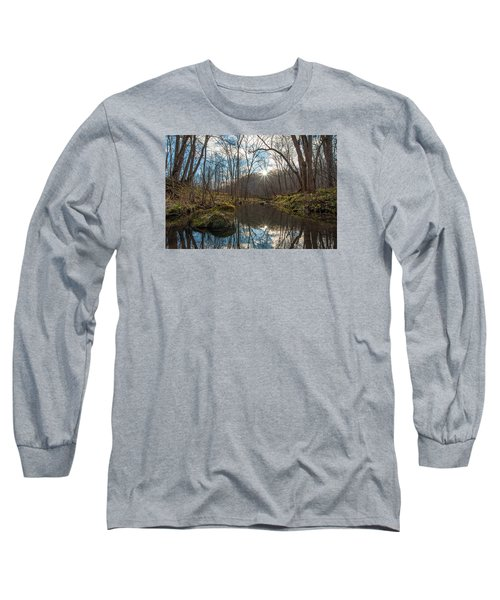 Long Sleeve T-Shirt featuring the photograph Pine Creek by Dan Traun