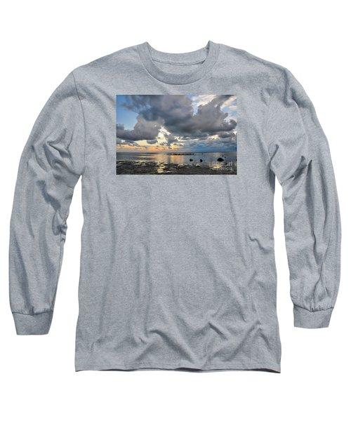 Pine Island Sunset Long Sleeve T-Shirt
