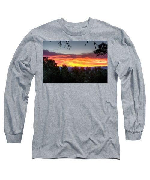 Pine Sunrise Long Sleeve T-Shirt