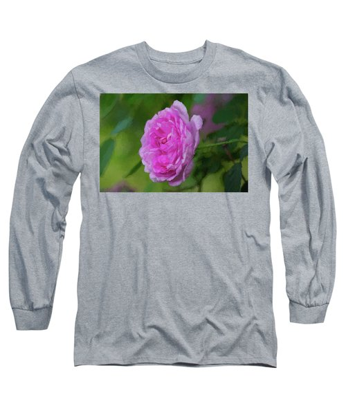 Pink Beauty In Bloom Long Sleeve T-Shirt