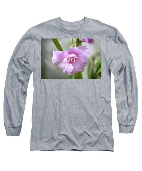 Pink Blush Long Sleeve T-Shirt by Terence Davis
