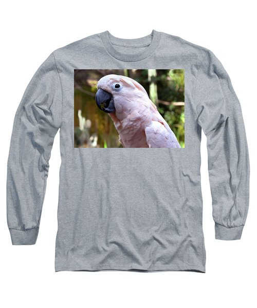Pink Cockatoo Long Sleeve T-Shirt