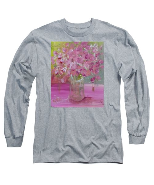 Pink Explosion Long Sleeve T-Shirt