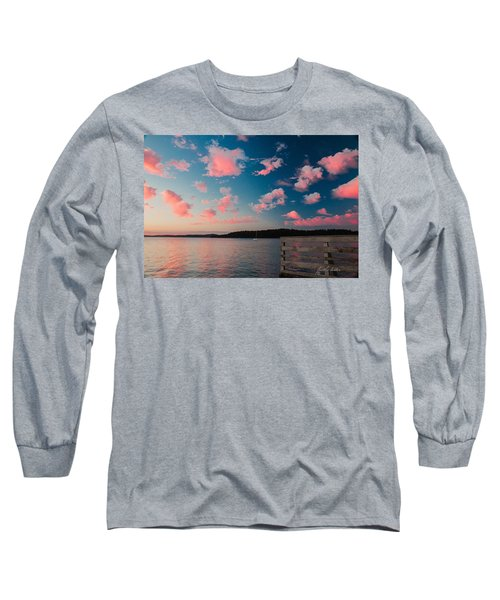 Pink Fluff In The Air Long Sleeve T-Shirt