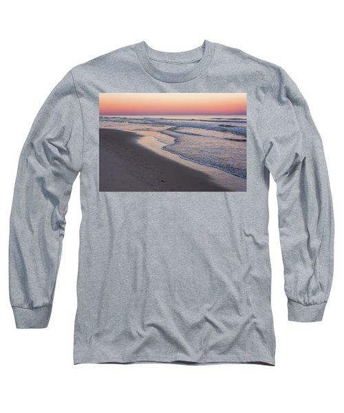 Pink Glow Seaside New Jersey 2017 Long Sleeve T-Shirt