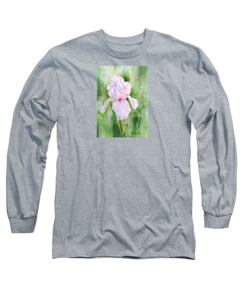 Pink Iris Long Sleeve T-Shirt