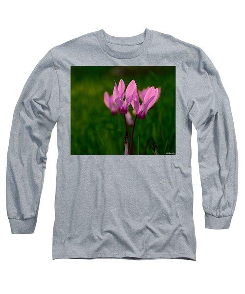 Pink Light Long Sleeve T-Shirt