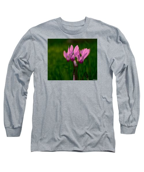 Pink Light Long Sleeve T-Shirt