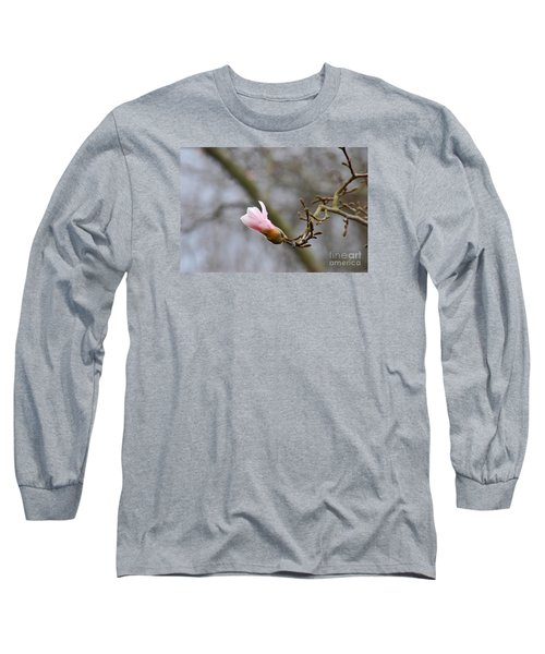 Long Sleeve T-Shirt featuring the photograph Pink Magnolias 20120321_54a by Tina Hopkins