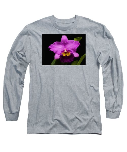 Pink Orchid Long Sleeve T-Shirt