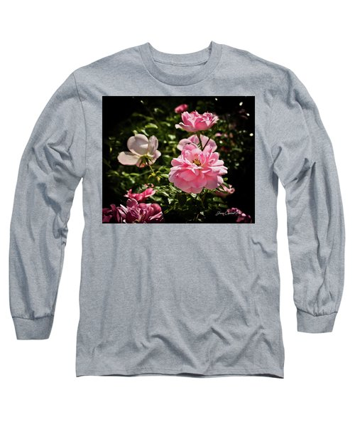 Long Sleeve T-Shirt featuring the photograph Pink Passion  by Joann Copeland-Paul