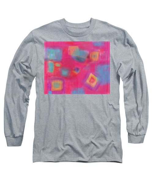 Pink Play Long Sleeve T-Shirt by Susan Stone