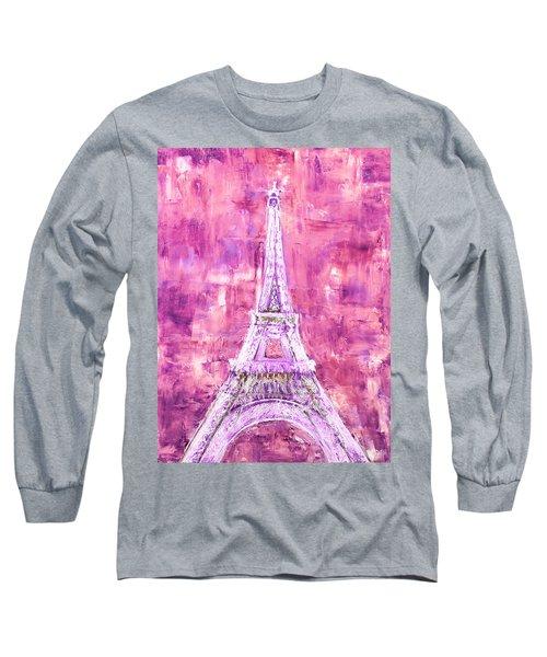 Pink Tower Long Sleeve T-Shirt
