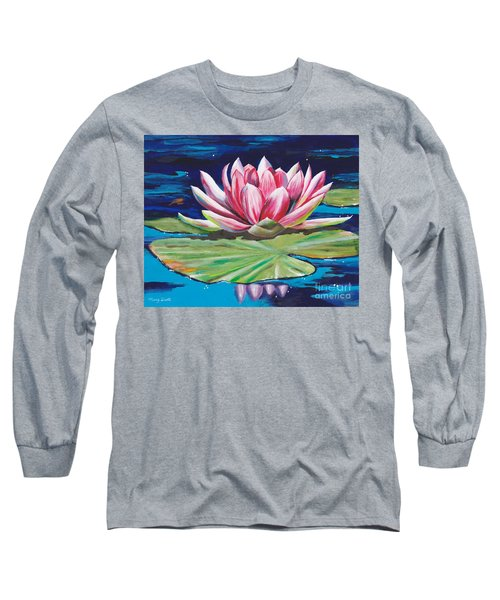 Pink Tranquility Long Sleeve T-Shirt