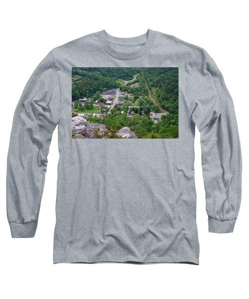 Pinnacle Overlook In Kentucky Long Sleeve T-Shirt