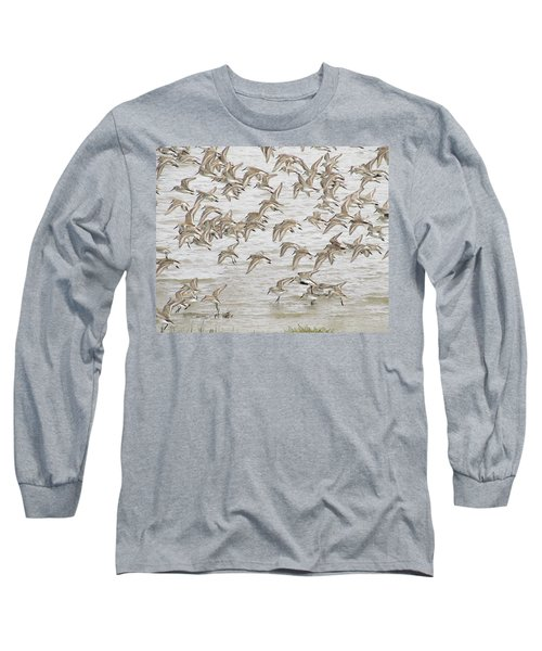 Piping In Spring Long Sleeve T-Shirt by I'ina Van Lawick