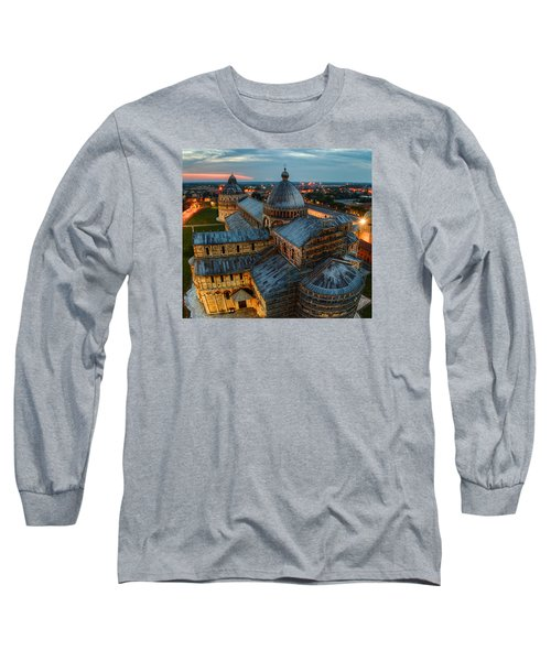Pisa Cathedral Long Sleeve T-Shirt by Robert Charity