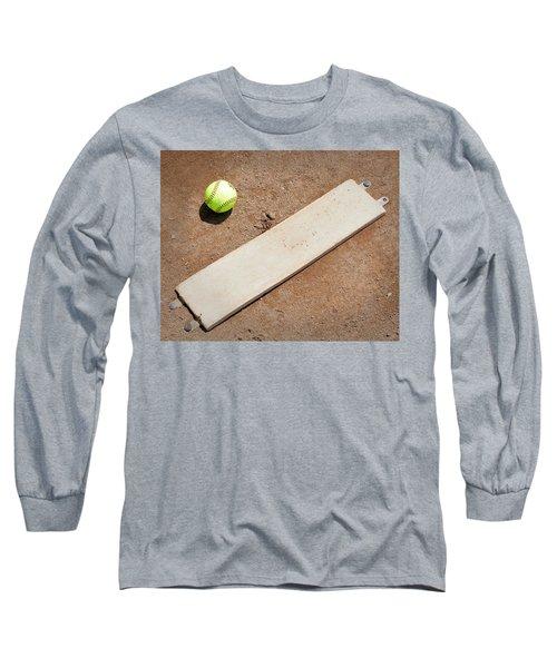 Pitchers Mound Long Sleeve T-Shirt