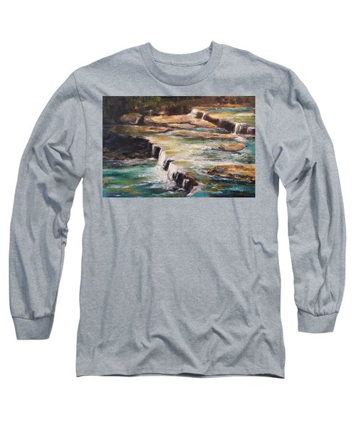 Pixley Falls Park Ny Long Sleeve T-Shirt