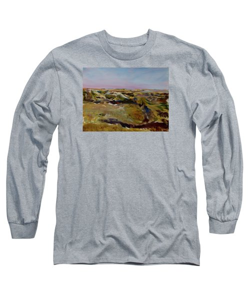 Coulee Evening Long Sleeve T-Shirt by Helen Campbell