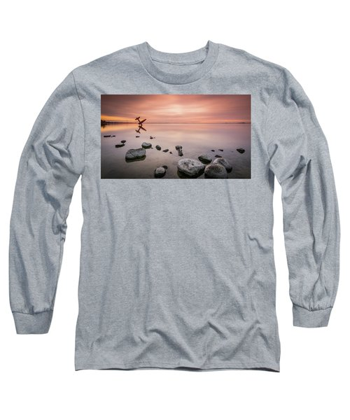 Plane And Colors Long Sleeve T-Shirt