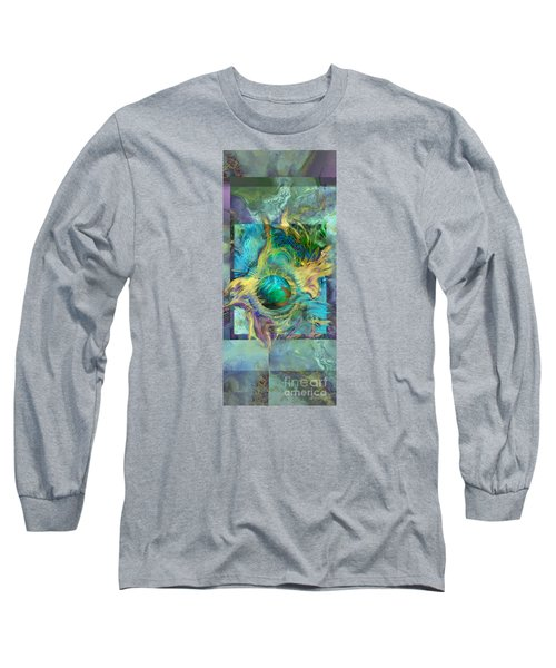 Planetary Collision 2 Long Sleeve T-Shirt