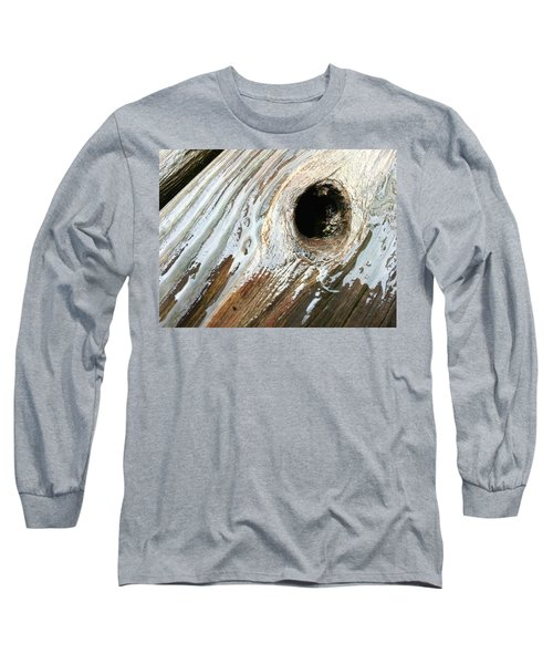 Long Sleeve T-Shirt featuring the photograph Planking The Right Way? by Robert Knight