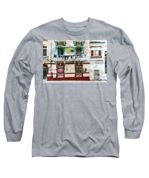 Plano De La Habana Long Sleeve T-Shirt