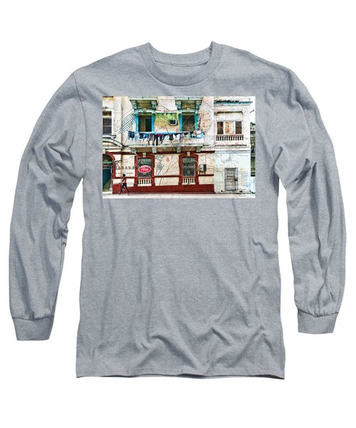 Plano De La Habana Long Sleeve T-Shirt