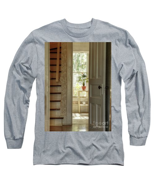 Plant In Window Long Sleeve T-Shirt