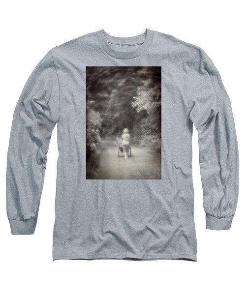 Planting-sepia Long Sleeve T-Shirt