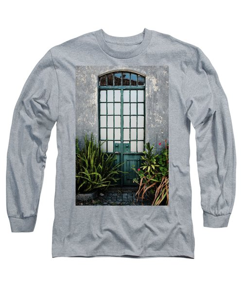 Long Sleeve T-Shirt featuring the photograph Plants In The Doorway by Marco Oliveira