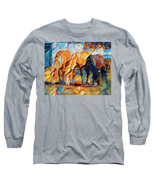 Plastic Horses Long Sleeve T-Shirt