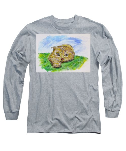 Play With Me Long Sleeve T-Shirt by Clyde J Kell