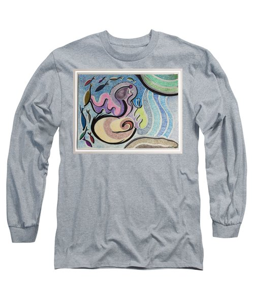 Playing With The Seal Long Sleeve T-Shirt