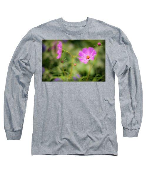 Pleasant Summer Wild Flowers Long Sleeve T-Shirt