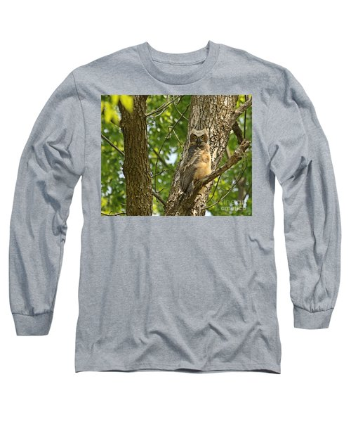 Pleasantly Surprised  Long Sleeve T-Shirt by Heather King