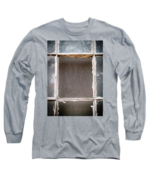 Please Let Me Out... Long Sleeve T-Shirt by Charles Hite