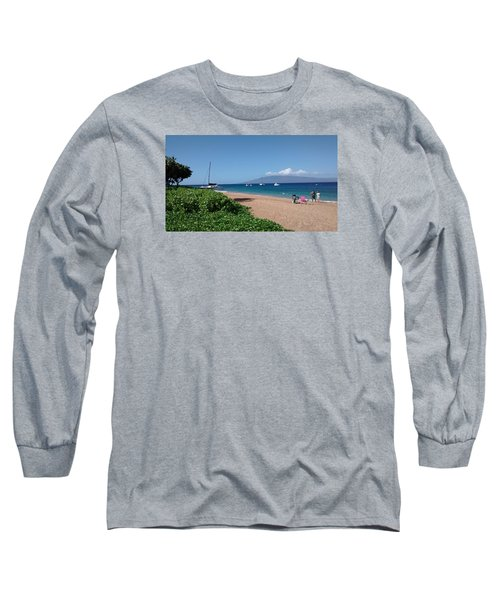 Please Stay Long Sleeve T-Shirt