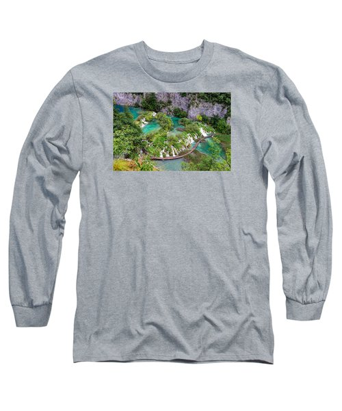 Plitvice Lakes National Park Long Sleeve T-Shirt