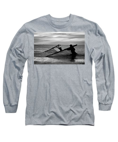 Plowing The Sea - Thailand Long Sleeve T-Shirt