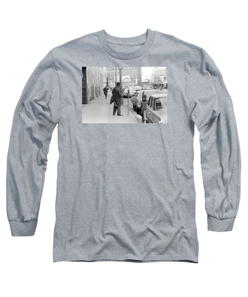 Plugging The Meter Long Sleeve T-Shirt