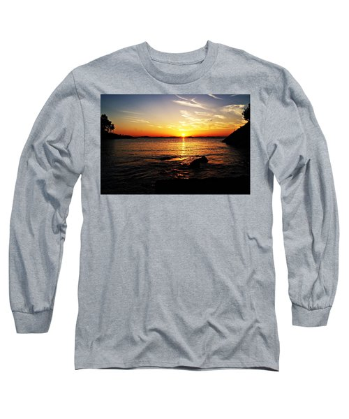 Plum Cove Beach Sunset G Long Sleeve T-Shirt