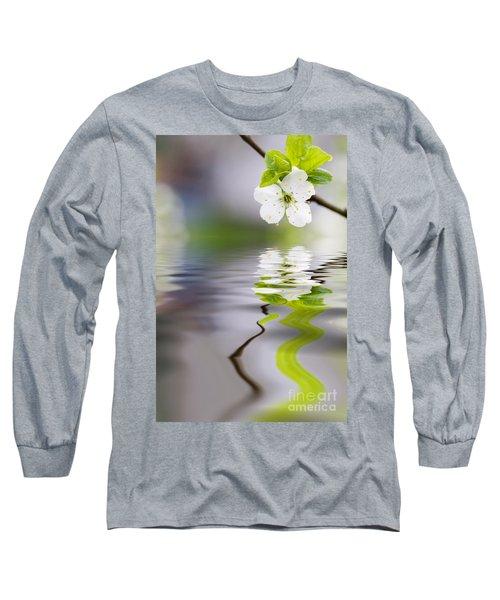 Plum Tree Blooming Long Sleeve T-Shirt
