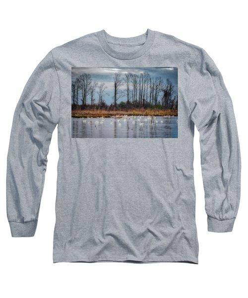 Pocosin Lakes Nwr Long Sleeve T-Shirt