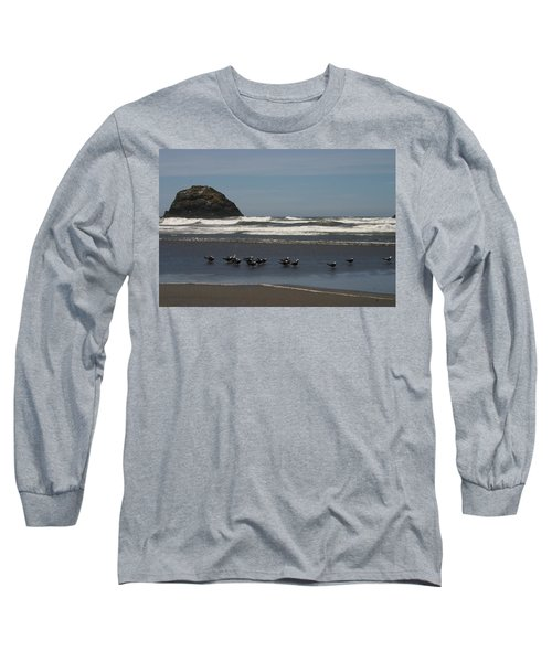 Poetry In Motion Long Sleeve T-Shirt by Marie Neder