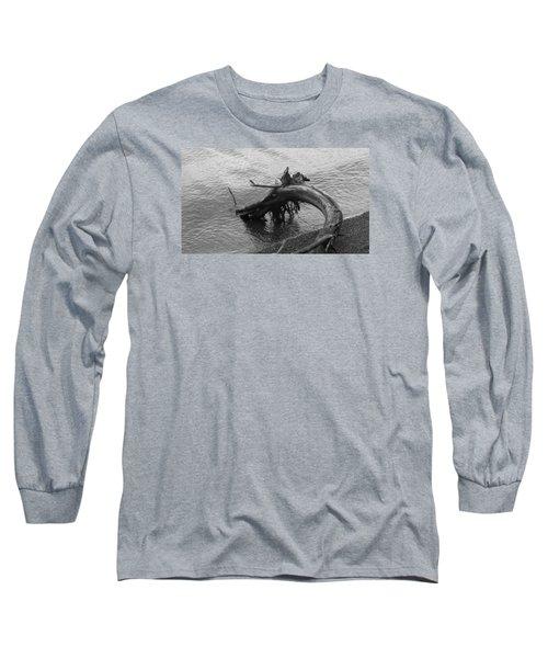 Point Defiance Driftwood Long Sleeve T-Shirt